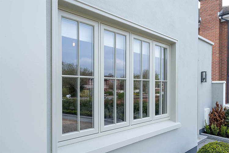 Timber Casement Windows Dublin Flush