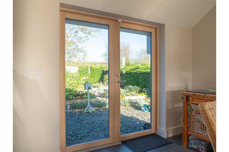 Aluminium Clad Wood French Doors