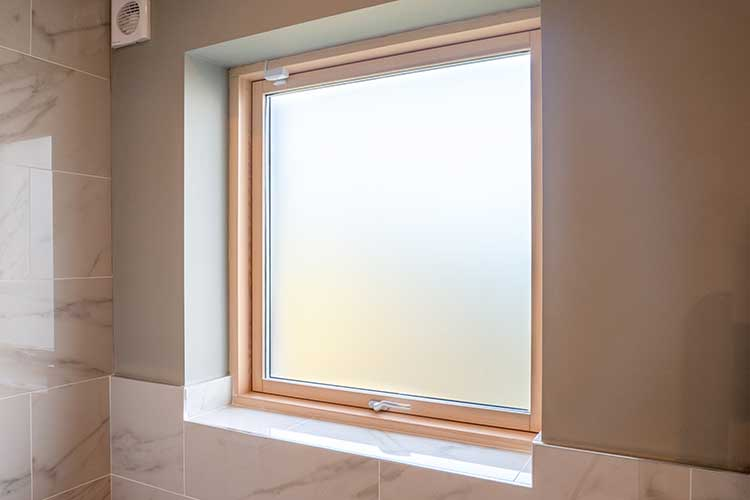 Aluclad Wood Top Hung Casement Window