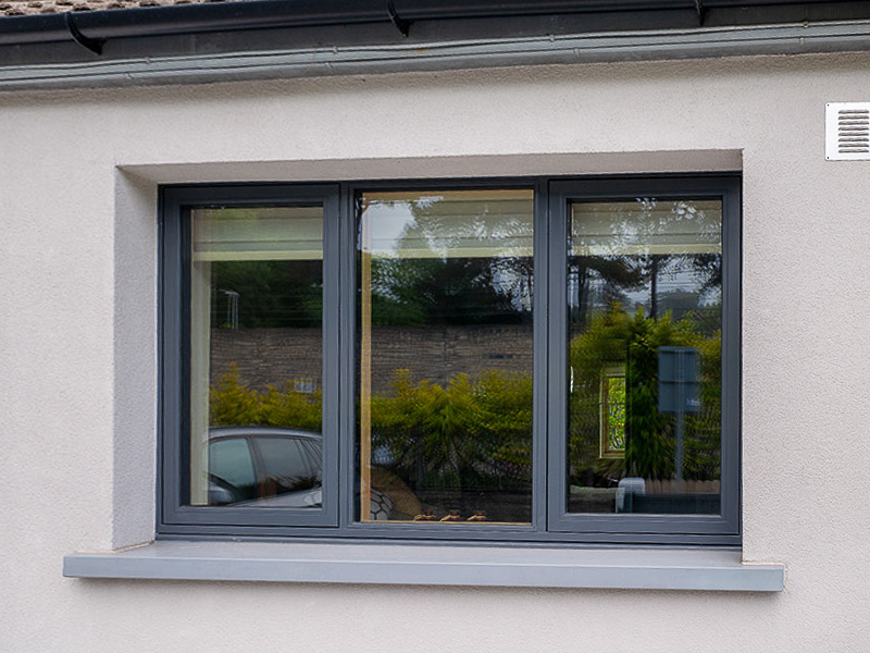Aluminium Clad Wood Casement Windows