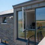 Anthracite Grey Aluclad Wood Casement Windows