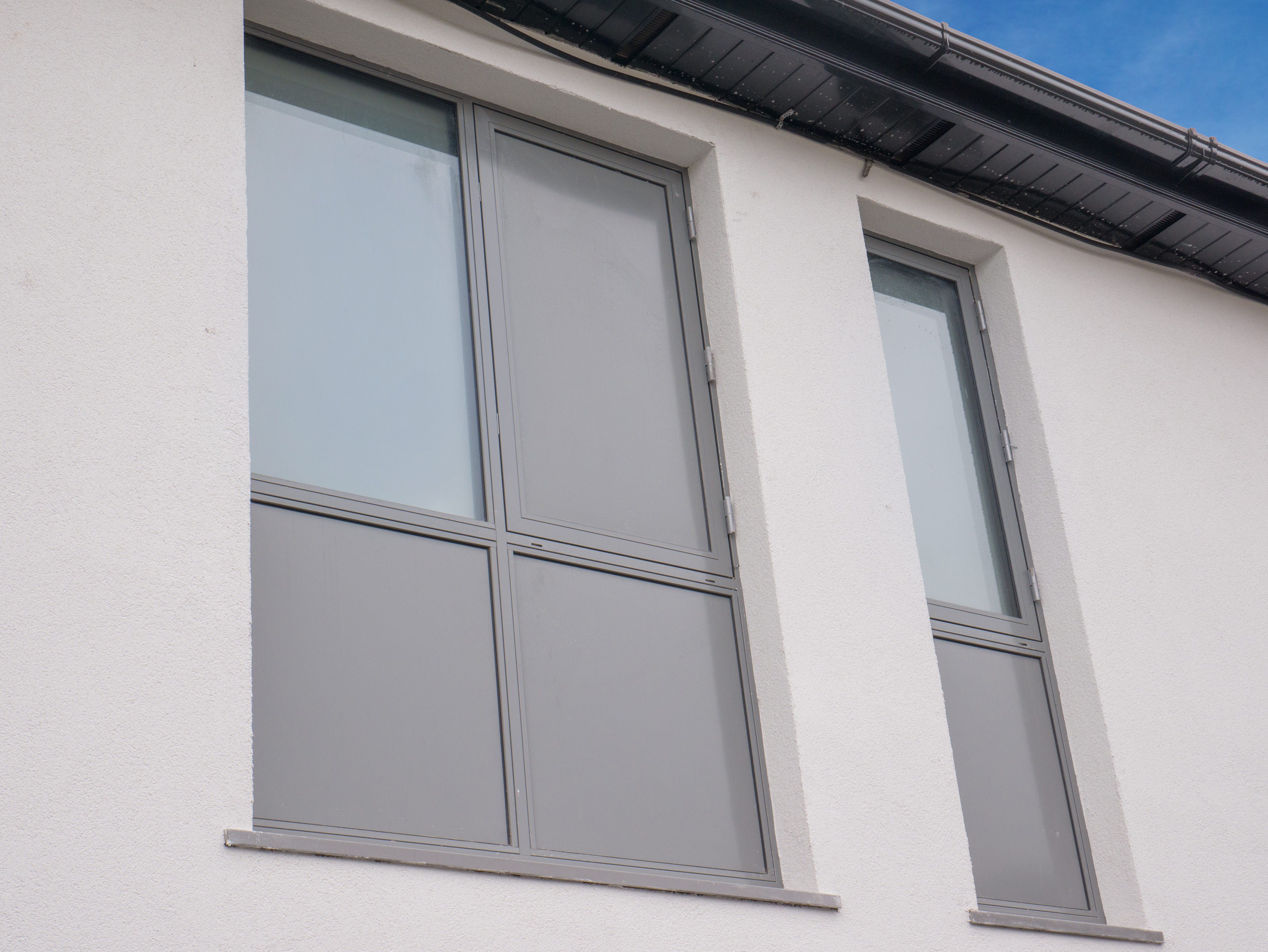 Signature Aluclad Windows With Panels