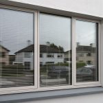 Grey Aluclad Wood Windows