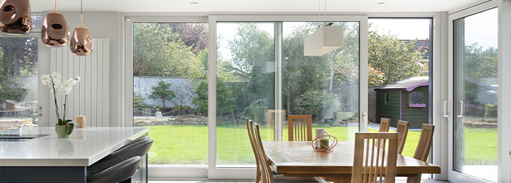 Floor to ceiling windows in Swords Co. Dublin