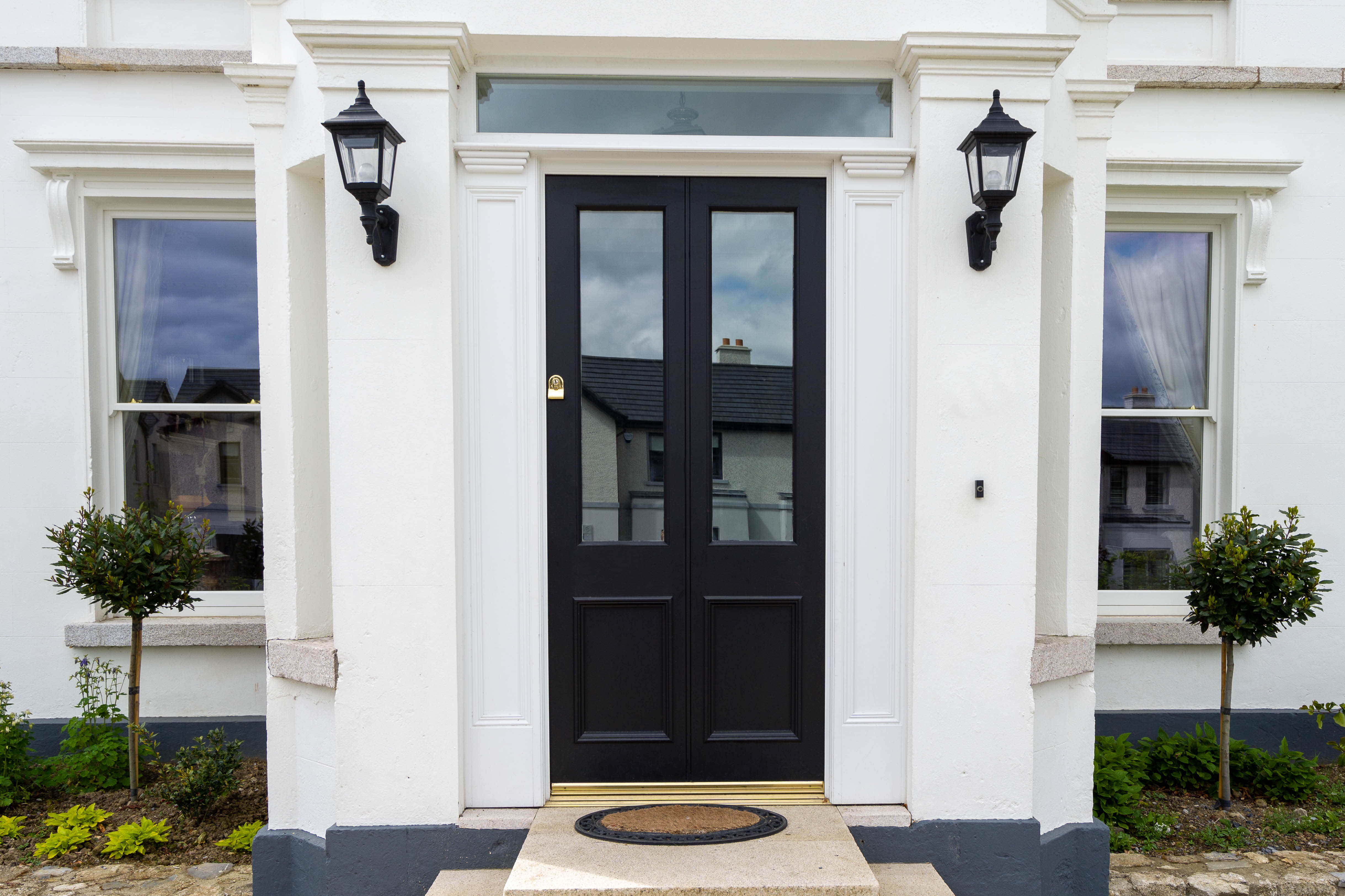 Traditional Front Door- Bolton Hall